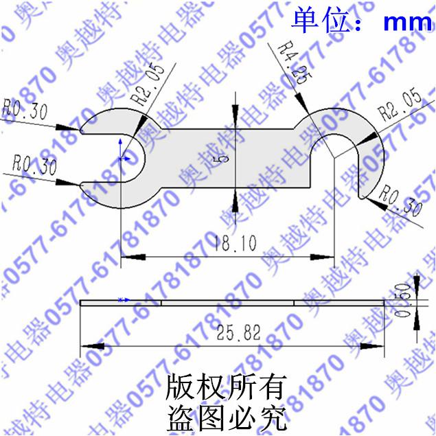 电机接线片|断路器接线铜板|冷压